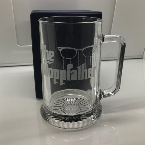 Liverpool Football Glass Tankard Engraved The Kloppfather