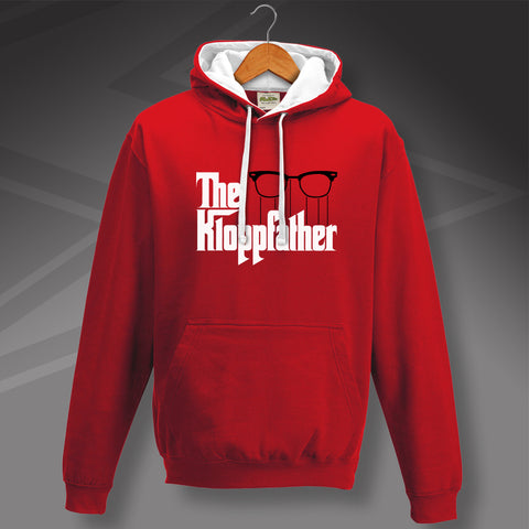 Liverpool Football Hoodie Contrast The Kloppfather