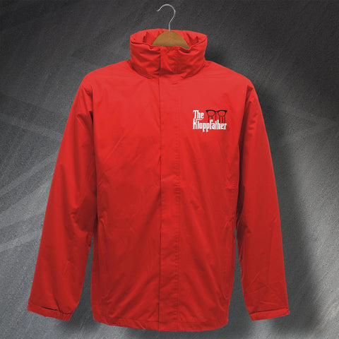 Liverpool Football Jacket Embroidered Waterproof The Kloppfather