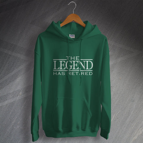 Retirement Hoodie The Legend Has Retired