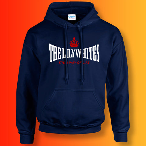The Lilywhites Hoodie with It's a Way of Life Design