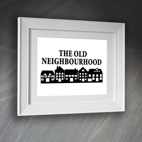 The Old Neighbourhood Pub Framed Print