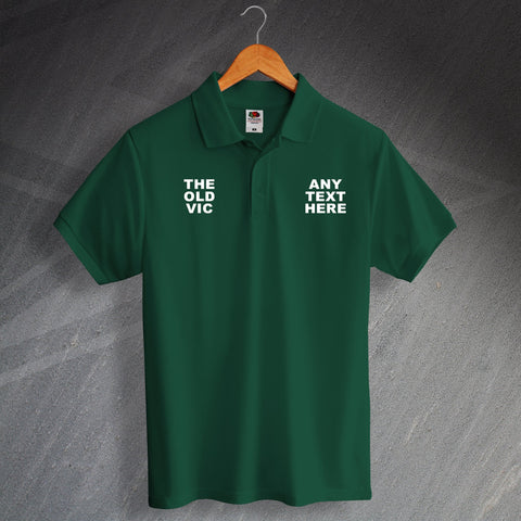 The Old Vic Pub Polo Shirt Personalised