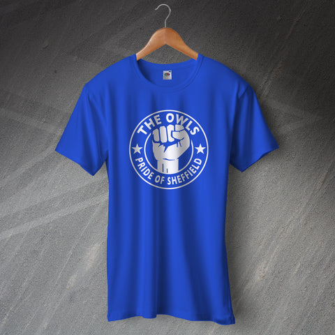 Sheffield Wednesday Football T-Shirt The Owls Pride of Sheffield