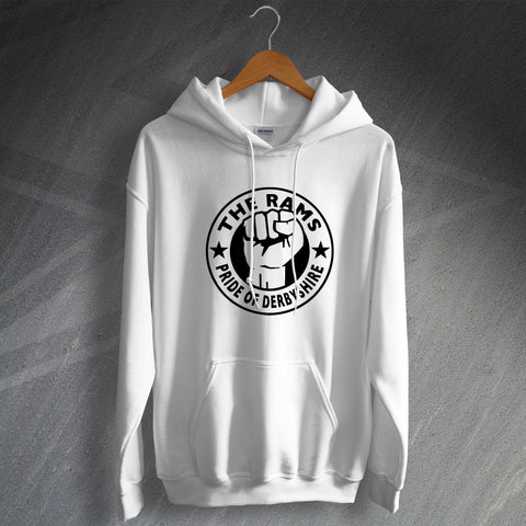 Derby Football Hoodie The Rams Pride of Derbyshire