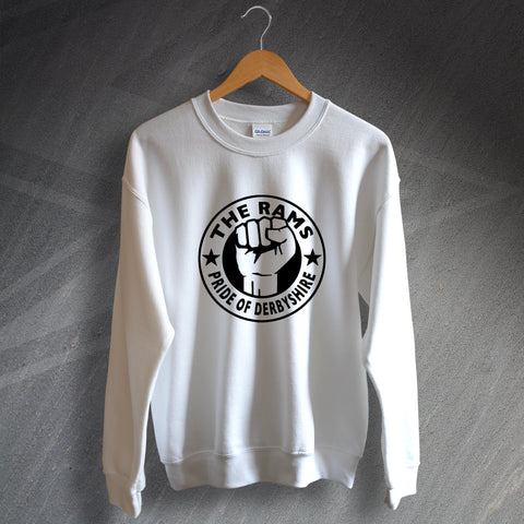 Derby Football Sweatshirt The Rams Pride of Derbyshire