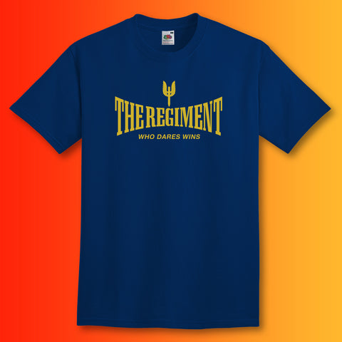 The Regiment T-Shirt with Who Dares Wins Design