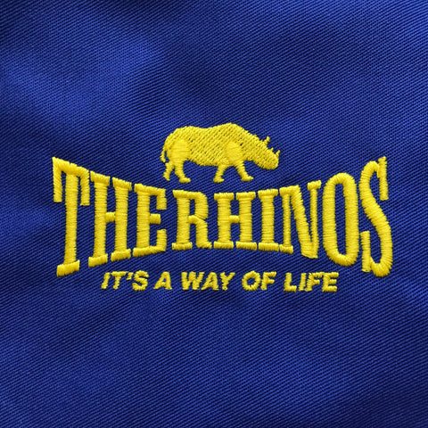 The Rhinos Embroidered Badge