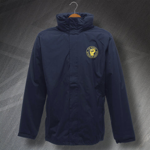 The Rhinos Rugby Jacket Embroidered Waterproof Pride of Leeds