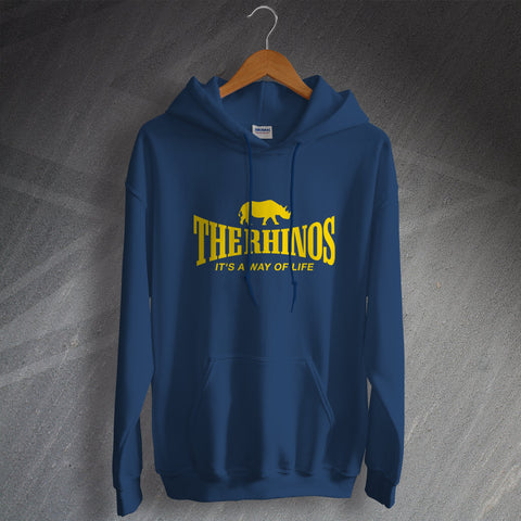 The Rhinos Rugby Hoodie It's a Way of Life