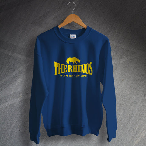 The Rhinos Rugby Sweatshirt It's a Way of Life