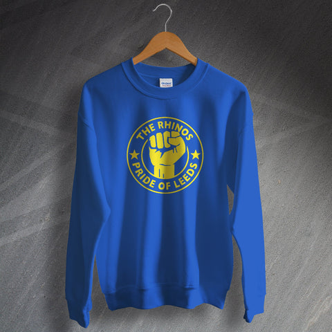 The Rhinos Rugby Sweatshirt Pride of Leeds