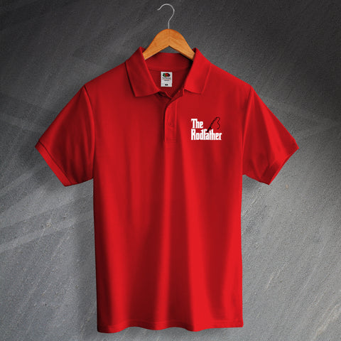 The Rodfather Embroidered Polo Shirt