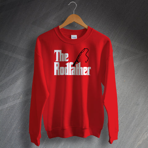 Fishing Football Sweatshirt The Rodfather