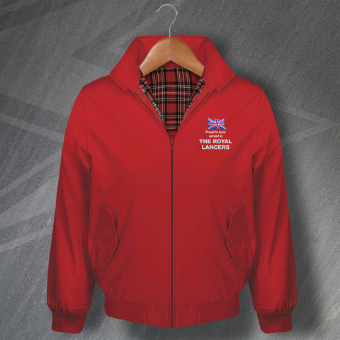 The Royal Lancers Harrington Jacket