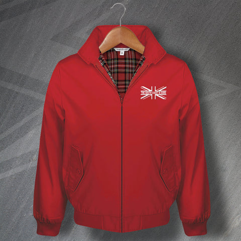 Southampton Football Harrington Jacket Embroidered Union Jack The South Coast is Ours