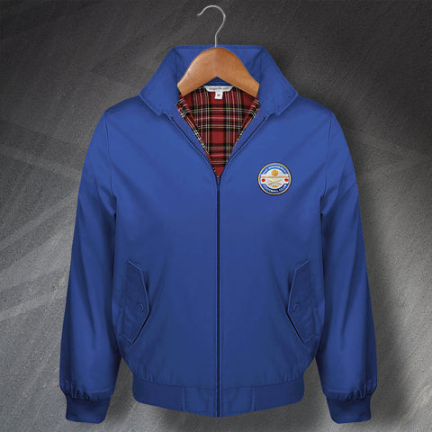 Sheffield Wednesday Football Harrington Jacket Embroidered The Wednesday