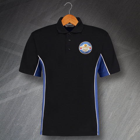 Sheffield Wednesday Football Polo Shirt Embroidered Track The Wednesday