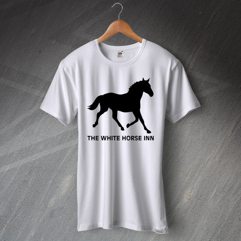 The White Horse Pub T-Shirt Silhouette