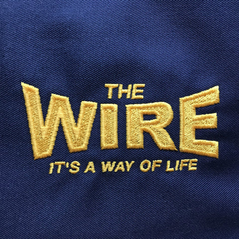 The Wire Rugby Badge