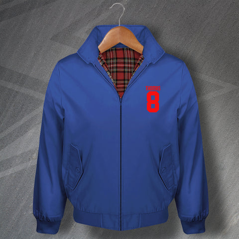 Thomas 8 Football Harrington Jacket Embroidered