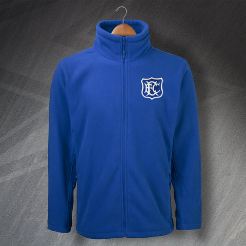 Retro Toffees Fleece with Embroidered Badge
