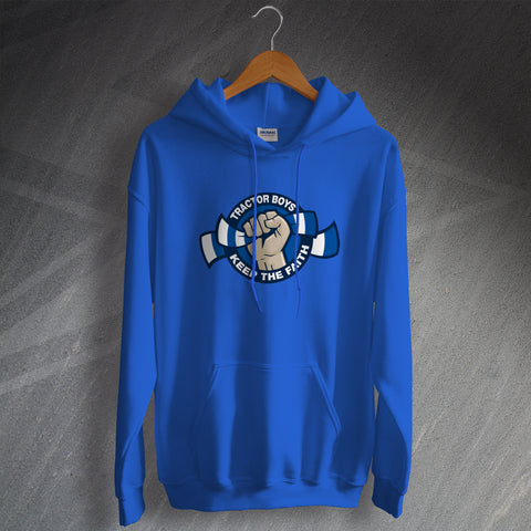 Ipswich Football Hoodie Tractor Boys Keep The Faith