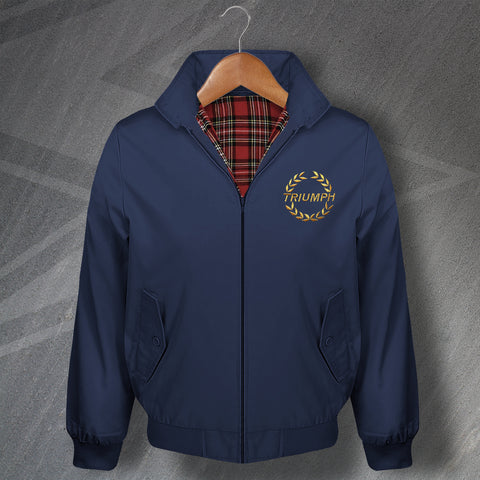 Triumph Motor Company Embroidered Classic Harrington Jacket