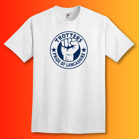 Trotters Shirt with The Pride of Lancashire Design