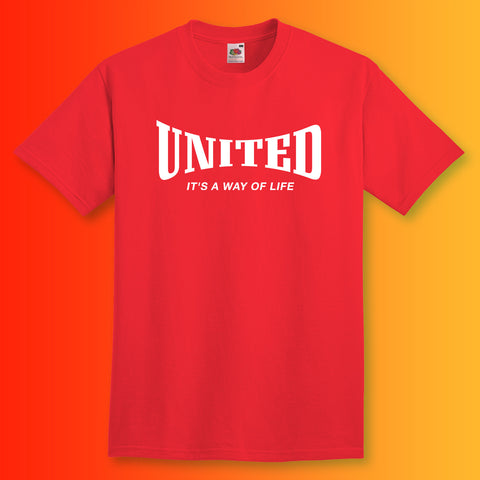 United Shirt with It's a Way of Life Design