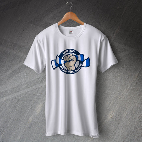 Leeds Football T-Shirt United Keep The Faith