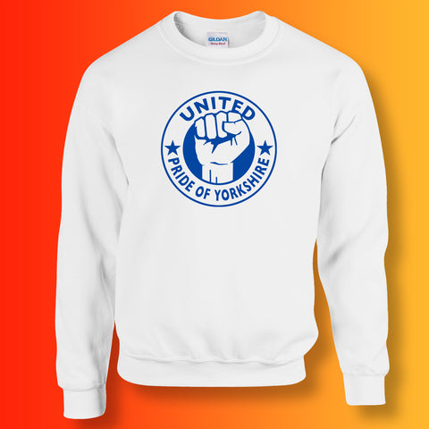 United Sweater with The Pride of Yorkshire Design