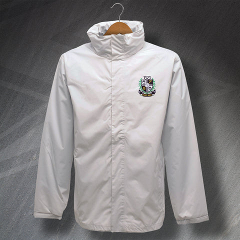 Port Vale Football Jacket Embroidered Waterproof 1956