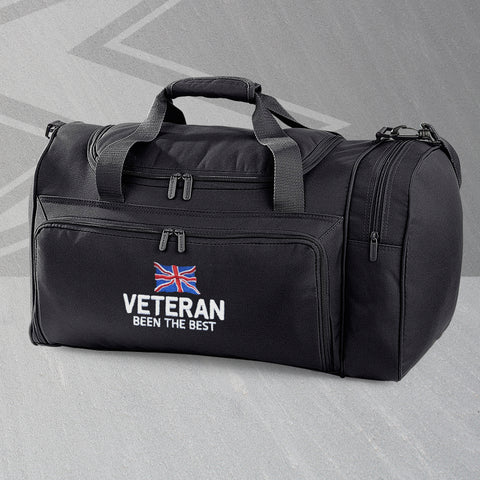 Veteran Holdall Embroidered Been The Best