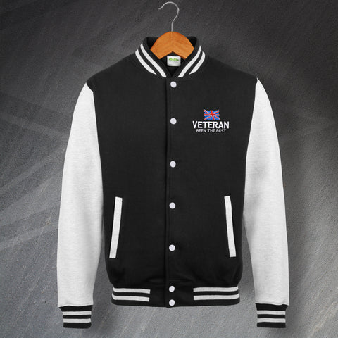 Veteran Varsity Jacket Embroidered Been The Best