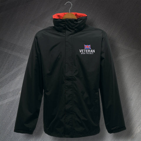 Veteran Jacket Embroidered Waterproof Been The Best