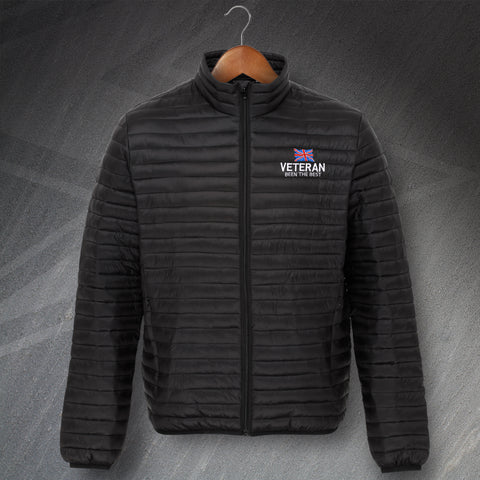 Veteran Been The Best Embroidered Padded Jacket