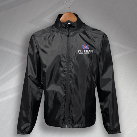 Veteran Lightweight Jacket Embroidered Been The Best