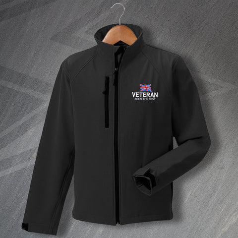 Veteran Jacket Embroidered Softshell Been The Best