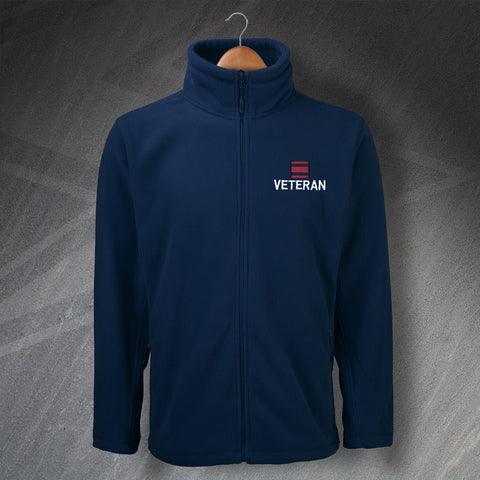 Veteran Fleece with Any Embroidered Tactical Recognition Flash