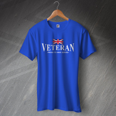 Veteran T-Shirt Proud to Have Served
