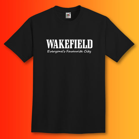 Wakefield T-Shirt with Everyone's Favourite City Design