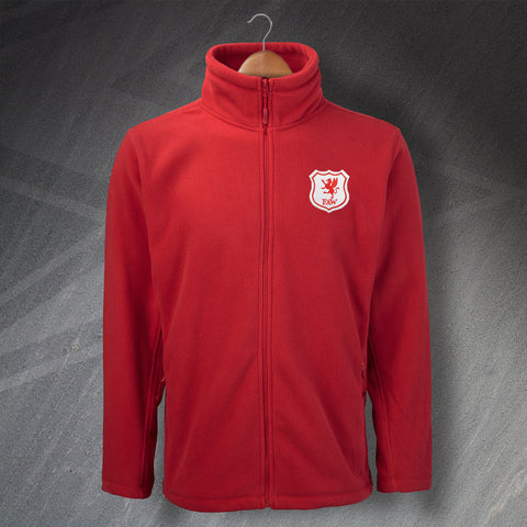 Retro Wales Embroidered Fleece