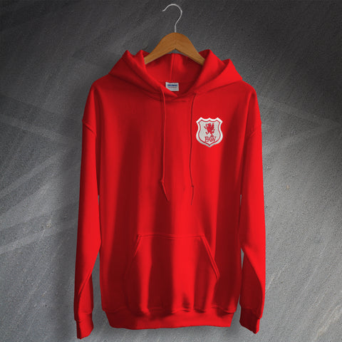 Wales Football Hoodie Embroidered 1926