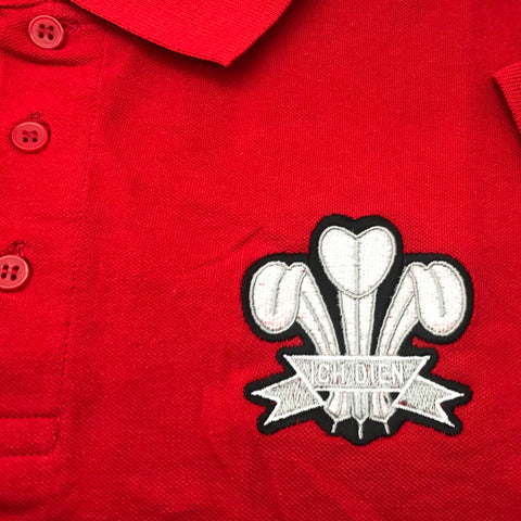 Wales Rugby Polo Shirt