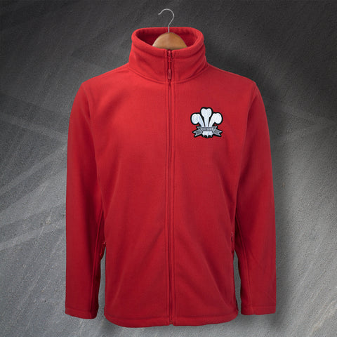 Wales Rugby Fleece Embroidered 1905