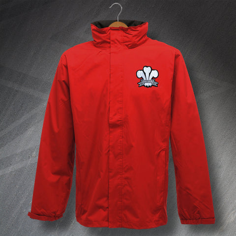 Wales Rugby Jacket Embroidered Waterproof 1905