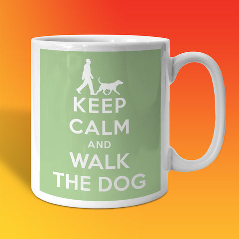 Walk The Dog Mug