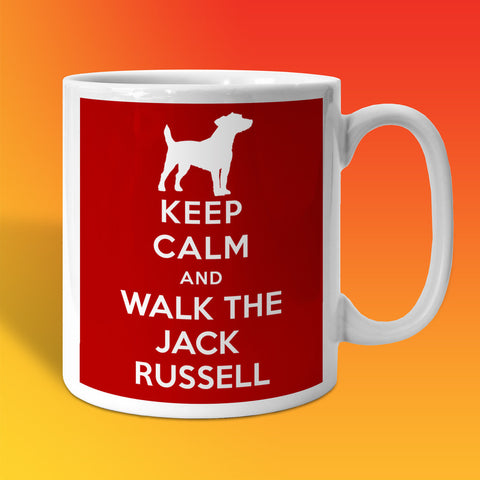Jack Russell Mug with Keep Calm Design
