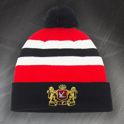 Walsall Football Bobble Hat Embroidered 1965